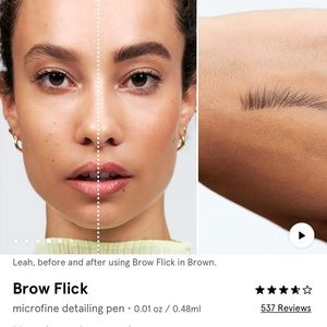"Glossier Makeup - Glossier Brow Flick in ""brown"""